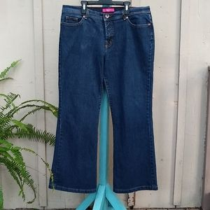 GLO Authentic Jeans Size 17 2% spandex comfort